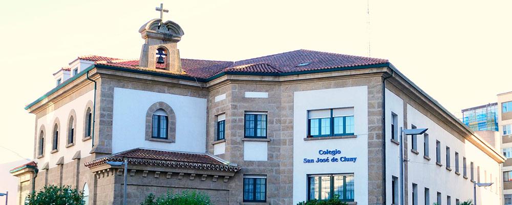 San José de Cluny Santiago fachada