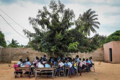 Ayuda a Mozambique San José de Cluny
